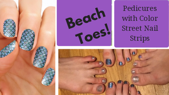 Beach Toes With A Color Street Pedicure Giveaway
