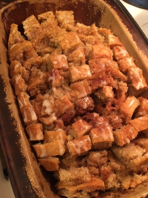 Cinnamon Roll Loaf